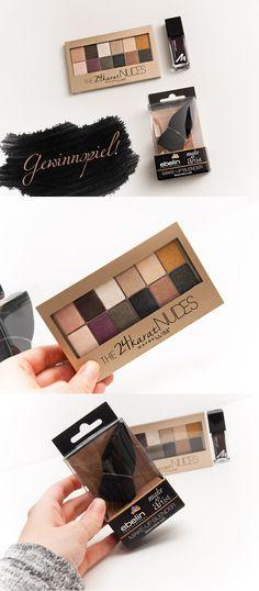 Beauty Blog Gewinnspiel zur Adventszeit.   Give-Away The 24karat Nudes Palette von Maybelline, Make-Up Blender, Manhattan Nailpolish