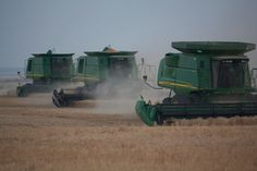 Wheat Harvest in SW OK #phototour2011