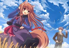 peach spice and wolf craft lawrence holo animal ears tail Spice And Wolf Holo, Wolf Deviantart, Wolf Craft, Wolf Tail, Wolf Wallpaper, Pretty Anime Girl, Animal Ears, Anime Style, Yandere