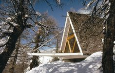 deck folds-up to secure & winterize home (Heidi & Peter Wenger's 1955 Trigon)