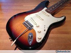 Fender Classic Player 60s Stratocaster Sunburst + gigbag - Te koop