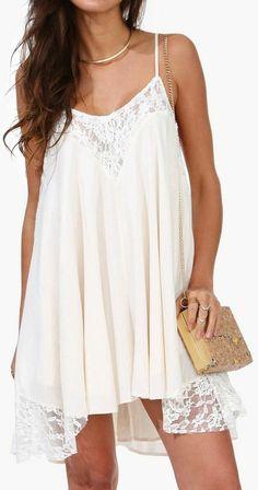 Lace Dress ♡ L.O.V.E.