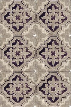 This rustic tile on travertine can go on your floor or serve as a kitchen backsplash.  This is a classic patterned tile that has spanish influences and also looks amazing on limestone.
