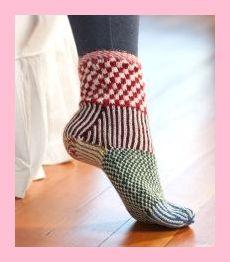 andin Nouveau 100/% ALPAGA Fil de Laine Chaussettes 1 paire chaud taille 9 To 11 avec motif
