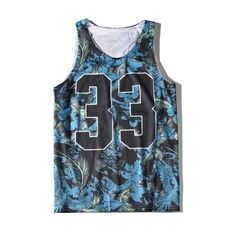 Casual Oversize Feather Printed Round Neck Sleeveless Unisex Sports... (€16) ❤ liked on Polyvore featuring tops, sports tops, round top, cami top, sleeveless tops and oversized tops