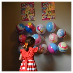 Do you want to pin the balloons and find Shopkins? @shopkinsworld  #shopkins…