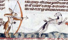 Eat Rabbit Justice, Hound (Mmm… Marginalia #82) — Got Medieval