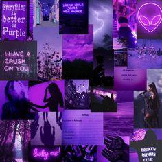 Purple Rooms, Purple Themes, Purple Walls, Iphone Wallpaper Tumblr Aesthetic, Aesthetic Pastel Wallpaper, Aesthetic Wallpapers, Murs Violets, Purple Wallpaper Phone, Dark Purple Aesthetic