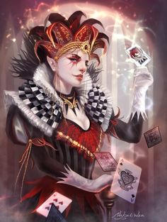 Nakai Wen  Dark Fantasy Art by Kirsi Salonen