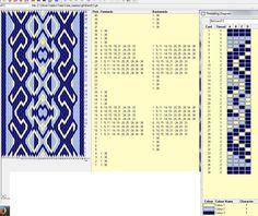 Flinkhand 13 Diseño para 38 tarjetas, 3 colores, el dibujo se repite cada 16 movimientos