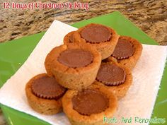 12 Days of Christmas Baking - Day 9 Peanut Butter Cup Cookies ~ Roots And Renovations