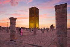 Mausoleo Mohamed V y Torre de Hasán