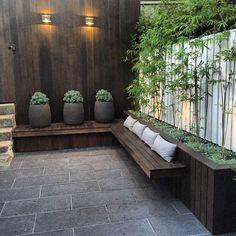 Small Courtyard Gardens, Courtyard Design, Small Backyard Gardens, Small Backyard Design, Backyard Patio Designs, Small Backyard Landscaping, Unique Gardens, Outdoor Gardens, Backyard Ideas