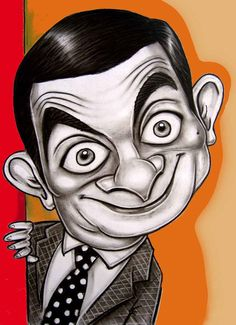 Mr. Bean - Caricature Cartoon