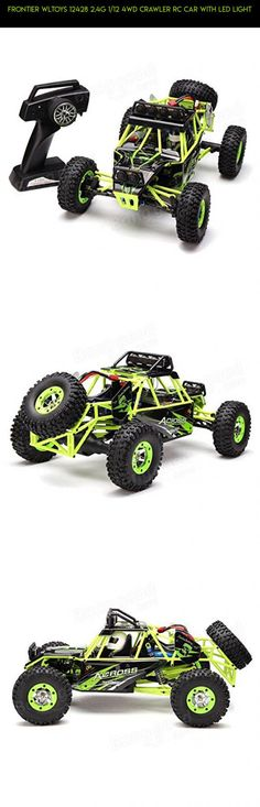 Frontier WLtoys 12428 2.4G 1/12 4WD Crawler RC Car With LED Light #camera #plans #12428 #drone #wltoys #technology #tech #fpv #shopping #gadgets #products #racing #kit #parts