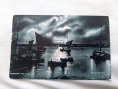 Angus, Scotland MONTROSE FROM FERRYDEN 1904 Postcard
