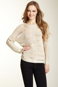 Olive & Oak  Ripped Pullover