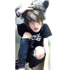 Johnnie guilbert. An amazing model with a good taste in style and music