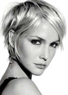 Short Blonde Pixie Cuts