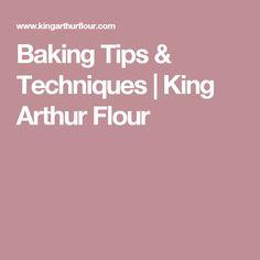 Baking Tips & Techniques Baking Tips, Bread Baking, Baking Hacks, Yeast Rolls, Cooking For Beginners, King Arthur Flour, Weight Watchers Meals, Baking Ingredients, Dessert Recipes