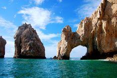Rock arches at Cabo San Lucas, Mexico