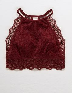 9cfeb5b958d aerie nordic lace bralette. Red Lace Bralette