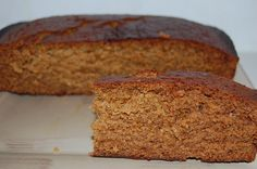 Dutch Spice Cake - A popular ginger cake to serve with a slab of butter. Easy melt and mix recipe. Always gets eaten quickly with no leftovers. Spice Cake Recipes, Baking Recipes, Dessert Recipes, Sweet Desserts, Cupcake Recipes, Dutch Recipes, Sweet Recipes, Danish Recipes, Easy Recipes