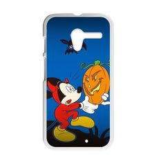 Halloween Mickey Holding A Pumpkin Case for Motorola Moto X