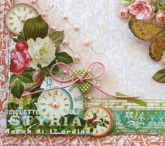 We're on BEAUTY Overload with Postcards From Paris II Embellies!