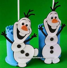 Kara s party ideas pastel frozen themed birthday party via kara s - Bolsas De Olaf Frozen Olaf Frozen Y Obsequios De Fiestas