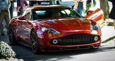 Aston Martin Vanquish Zagato Concept Combines British Engineering With Italian Flair