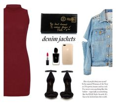 """""""jeans💟"""" by vinicius-alustau ❤ liked on Polyvore featuring Yves Saint Laurent, Giorgio Armani and MAC Cosmetics"""