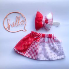 Redsy Skirt & Pillow Bow