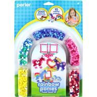 New Stripped Bead kits from Perler - adorable ideas!