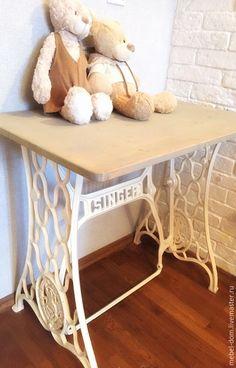 """Купить Туалетный столик """"Второе дыхание"""" - разноцветный, зингер, Мебель, мебель ручной работы"""
