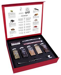 Gin and Tonic Premium Gift Set of Cocktail Botanicals and Spices