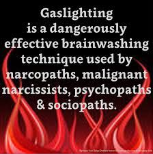 """""""Gaslighting"""" is an expression that many people in narcissistic abuse circles have heard.Gaslighting is about untruths, or at the very least stretching facts. It is about punishing people and fabricating information to suit one's own agenda. #narcissism #narcissist #abuserecovery #gaslightings #healing #awakening"""