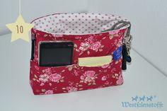 Handtaschen-Organizer, Nähanleitung, Blog Westfalenstoffe