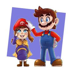 Commission for by LC-Holy on DeviantArt Super Mario Bros, Super Smash Ultimate, Mundo Dos Games, A Hat In Time, Cartoon Crossovers, Mario And Luigi, Epic Games, Video Game Art, Pretty Art