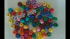 Bead's base making with waste material | jewellery tutorials