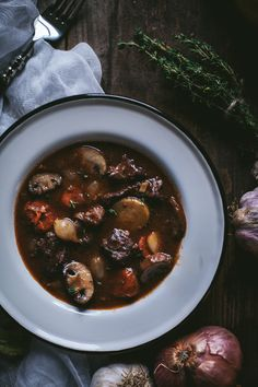Boeuf Bourguignon | Adventures in Cooking (Adapted from Ina Garten)