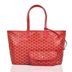 Goyard Saint Louis Tote Bag Red  205.00 Goyard St Louis Tote, Louis Bag,  Goyard 1aad550c7cb