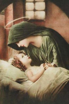 Child Jesus and His Mother Mary -mother love Religious Pictures, Religious Icons, Religious Art, Blessed Mother Mary, Blessed Virgin Mary, Catholic Art, Catholic Saints, Roman Catholic, Image Jesus