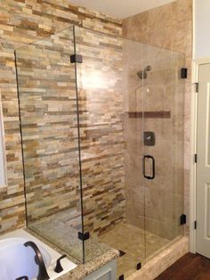 Walk In Shower Bathroom On Pinterest Glass Shower Doors