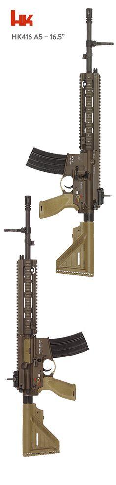"""HK416 A5 16.5"""" - www.Rgrips.com"""