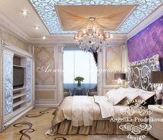 Интерьер спальни в квартире. Фото 2017 - Дизайн квартир
