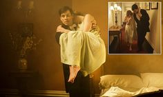 Drama as Abbey bursts into flames in series opener. Thomas saves Lady Edith
