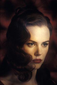 Nicole Kidman (in Moulin Rouge). Love the porcelain skin!!