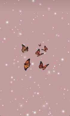 Cartoon Wallpaper, Halloween Wallpaper Iphone, Cute Disney Wallpaper, Kawaii Wallpaper, Iphone Wallpaper Tumblr Aesthetic, Aesthetic Pastel Wallpaper, Aesthetic Wallpapers, Blue Butterfly Wallpaper, Butterfly Background
