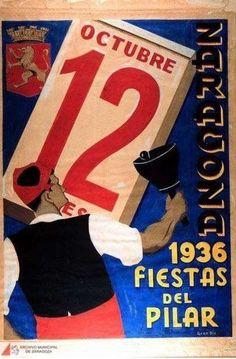 Exposición de carteles de las Fiestas del Pilar